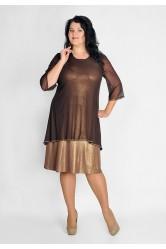 Платье с туникой Lila 52671