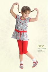 Костюм (футболка и лосины) Lila 0036