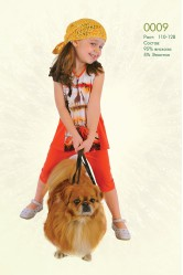 Костюм (футболка и лосины) Lila 0009